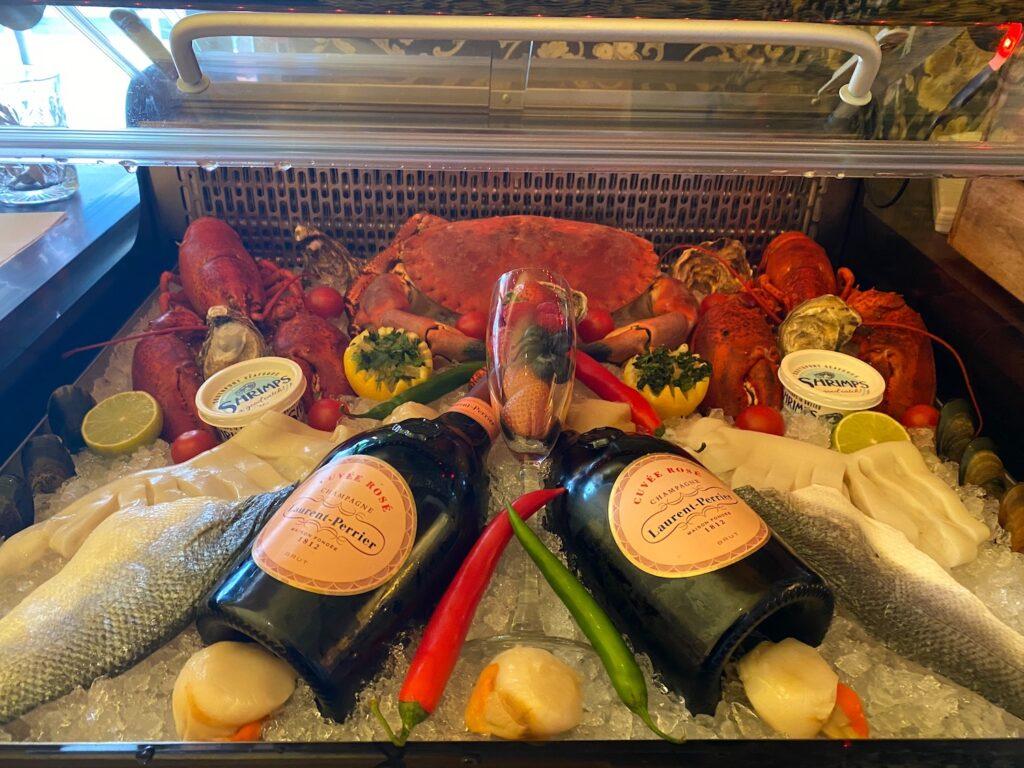 steak and seafood restaurant in Preston